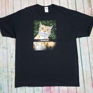 Snapcat tshirt
